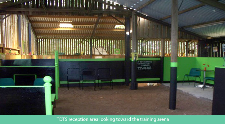 TDTS Reception Area