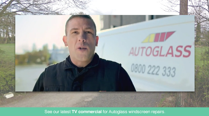 Still from Autoglass TV Advert
